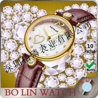 Womens jewelry 18k yellow Gold Diamonds Watch