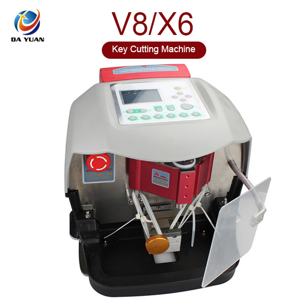 V8 X6 auto Key Cutting Machine With Free V2013 Database Similar to the A9 cutting machine LS04002