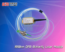 High Power 1550nm/1310nm DFB fiber butterfly coupled laser diode