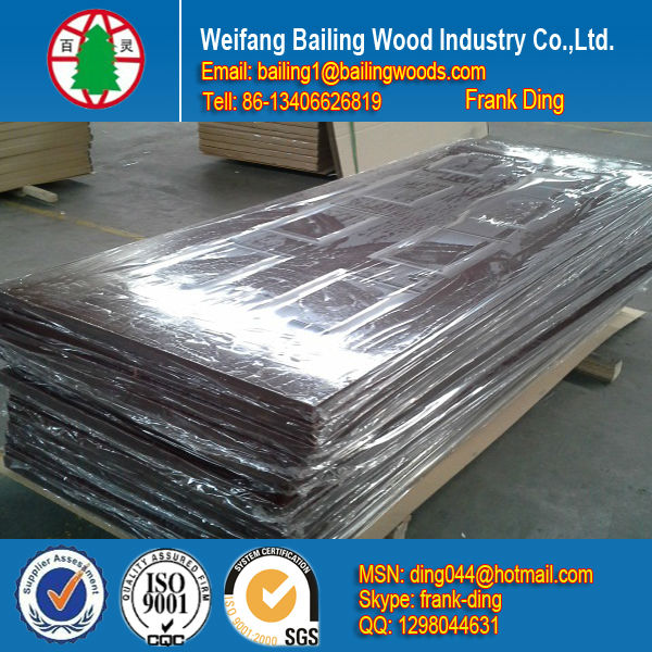 mould pressing door and moulded door skin