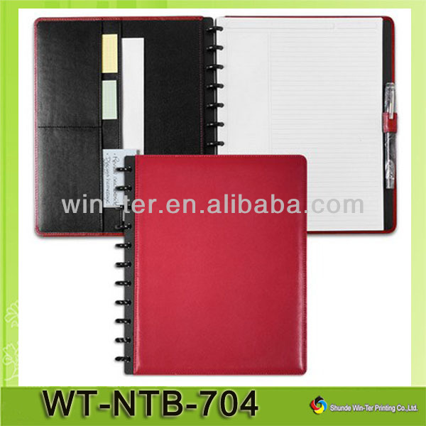 WT-NTB-704 Leather cover 2014 Agenda To Print
