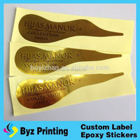 Custom Printing Brand Name Logo Self Adhesive Apple Juice Label