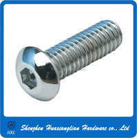 Factory directly supply hex socket button head cap screws