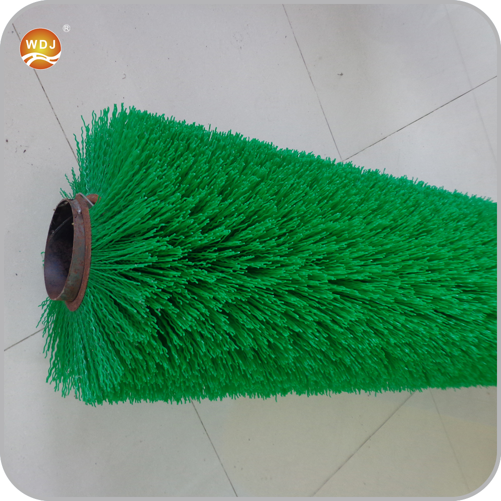 Road Sweeper Steel Rotary Tube Brushes with PP Bristle