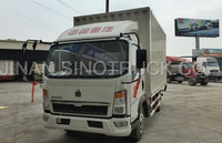 Chinese manufacturer cheap price quality wall side cargo light truck for sale/ZZ5127XXYD3415D1