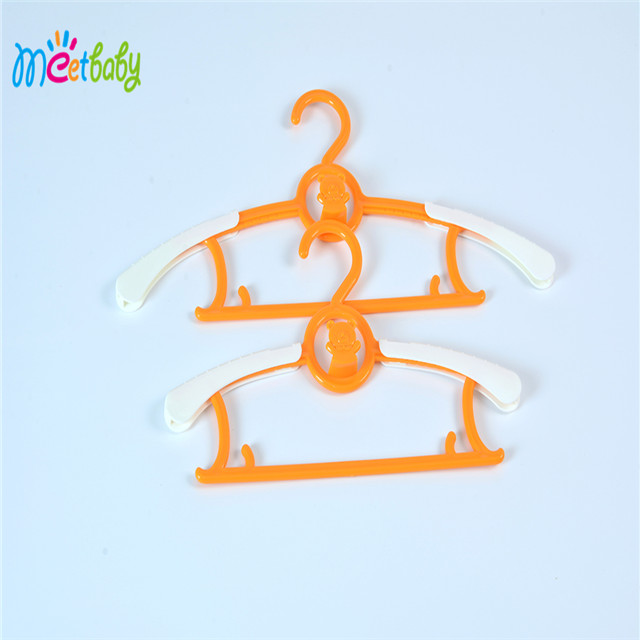Garment Coat Clothes Hangers Baby Small Kids Child Children Suitable Hook Nursery Plastic Hanging Towel Rack