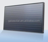 Money-saving 2 square-meters flat plate solar collector for hot water heater system