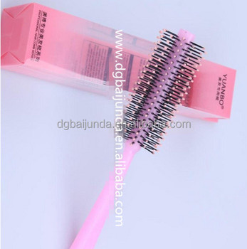Colorful plastic box for hair extension