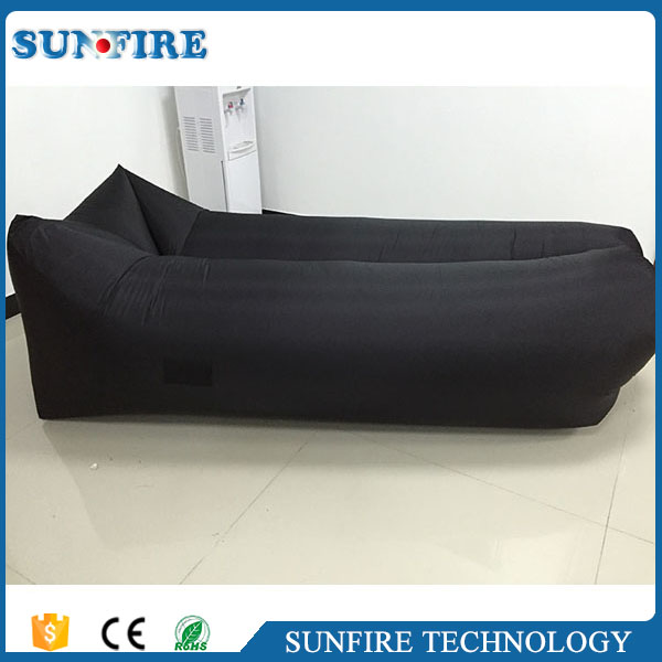 Factory wholesale inflatable air cushion sofa, single air sofa chair