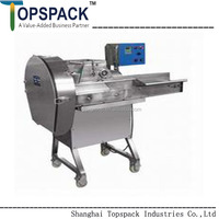 SS304 Potato Vegetable Cutter/ Vegetable Slicer/ Vegetable cutting machine TP-CHD80 with good quality for sale