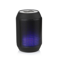 portable bluetooth speaker with TF card,FM radio and LED light dancing with music