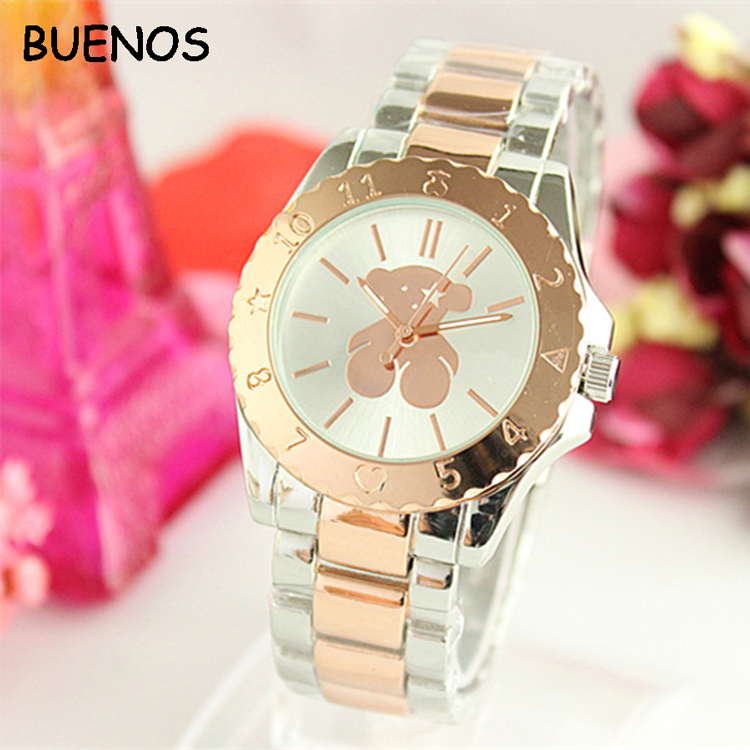 Fashion Luxury Individual Classic Big Bear Style Women Watches Wholesale