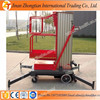 Cheap price aluminum lift platform, hydraulic aluminum ladder for sale