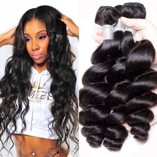 Wholesale Loose Wave 16 Inch Brazilian Hair Weave Prices Braiding