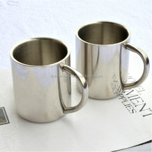 Promotional Insulated Unbreakable Drinking Stainless Steel Mug With Handle