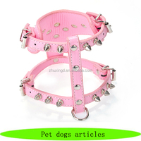Wholesale pet dogs articles, metal dog harness, pet supplies for dogs