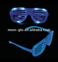 Party Decoration LED Flashing Glasses, Wholesale China Dollar Store