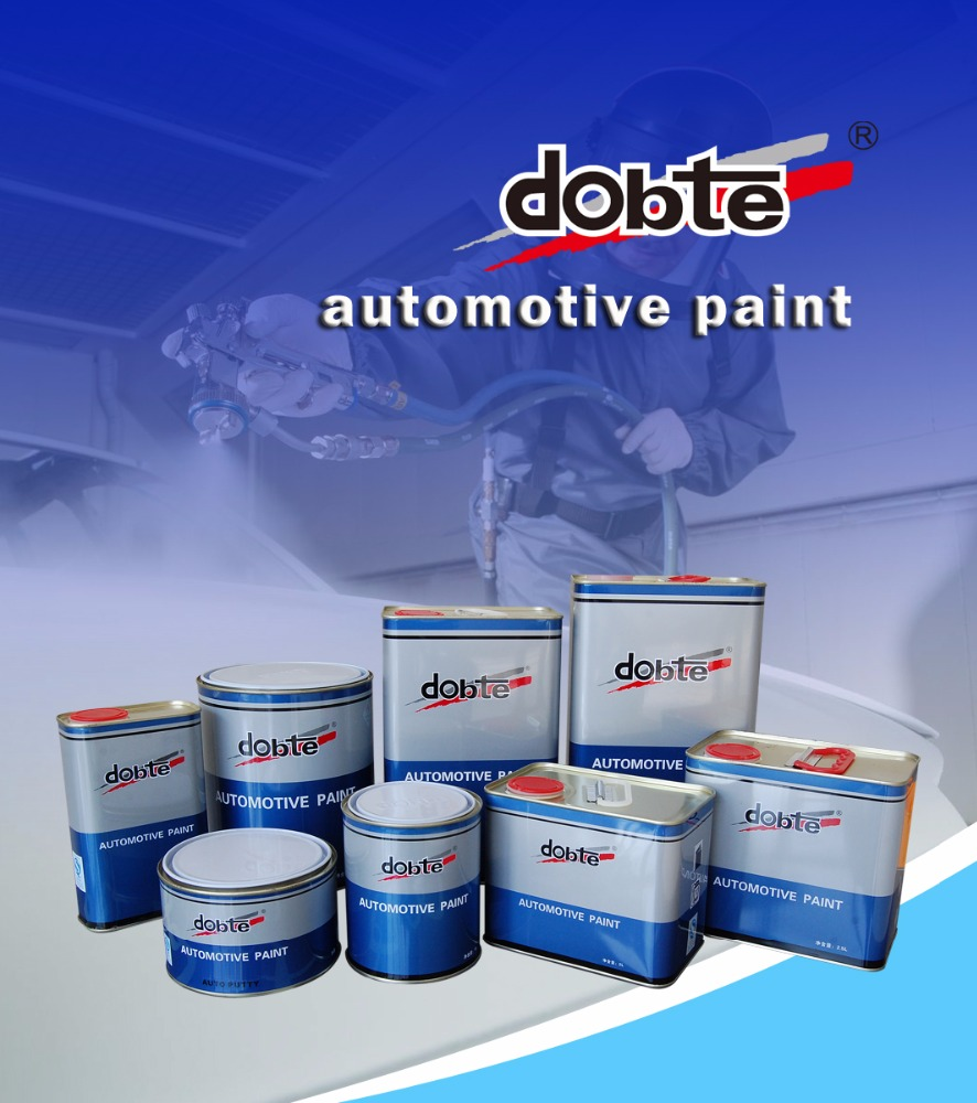 Car Spray Paint Applied by Spray Gun for Car Extiorior Body Repair