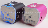 Rechargeable fm radio usb sd card mini speaker