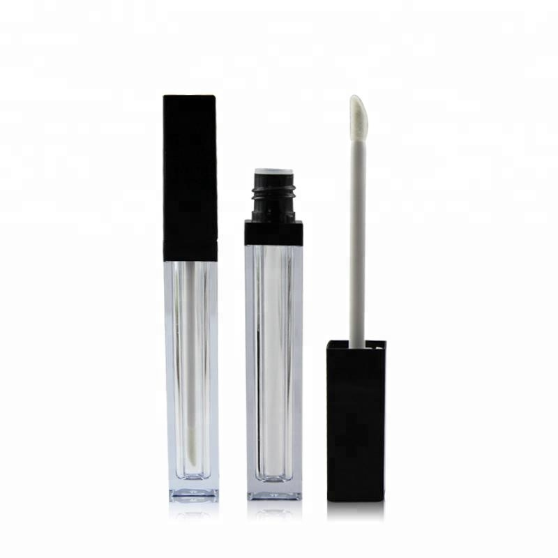 No Brand lip gloss packaging Empty Cosmetics Container Square <strong>Tube</strong>