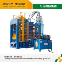 QT8-15 Automatic hollow solid concrete block machine and automatic concrete hollow core slab machine