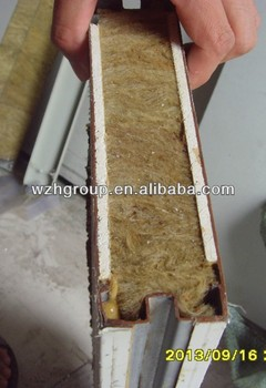Handmade Rockwool Insulation Sandwich Panel With Gypsum