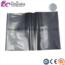 PVC clear book cover/plastic and transparent PVC sheet