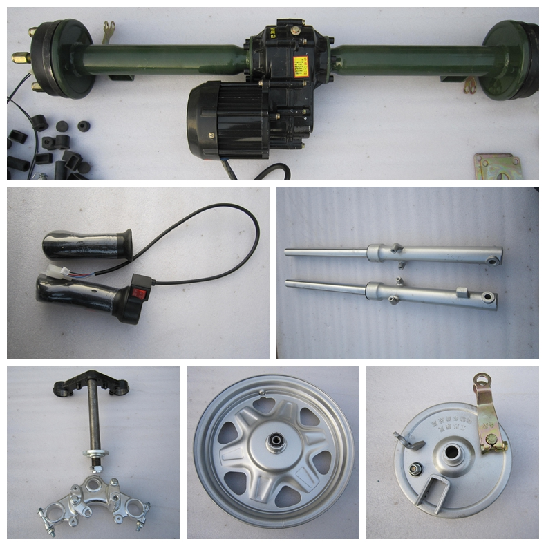 Hot model closed electric tricycle bajaj spare parts from China