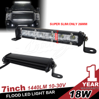 Super Slim 18W 7 inch Led light bar Off road Driving Lamp
