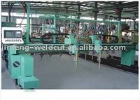 H I Box beam steel production line