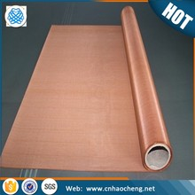Wholesale faraday cage shielding red copper wire mesh /screen mesh