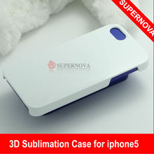 DIY 3D sublimation phone case for Iphone 5