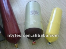 Type 1,2,3 CNG Steel Lined and Glass Fiber Hooped and aluminum liner fully wrapped gas Cylinders for vehicles