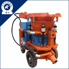 YL PZ-6 5m3/h diesel dry mix concrete spraying machine gunite equipment