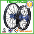 18 19 21 Inch Motocross bike aluminum alloy spoke wheels