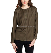 CHEFON Button front ladies kurta blouses fashion