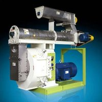 Wood dust pellet mill