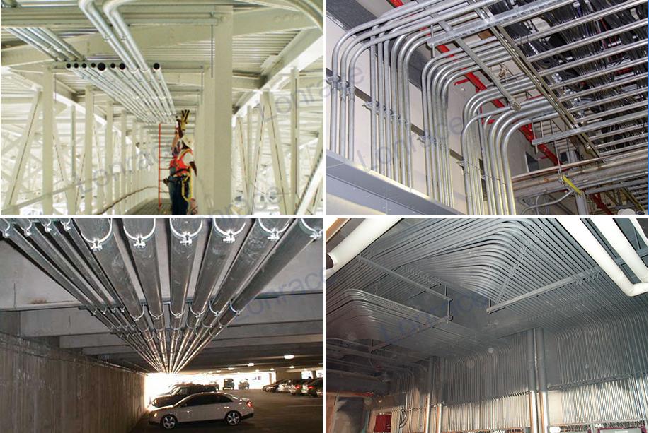 R 233 Seau 233 Lectrique Construction Tuyau D Emt Galvanis 233 Emt