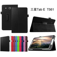 Litchi Skin Leather stand case cover for Samsung Galaxy Tab E 9.6 T560 T561 Tablet cover