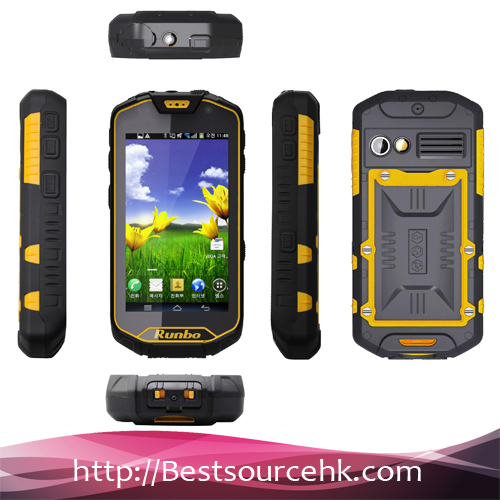4.5 inch MTK6589 IP67 2GB RAM/32GB ROM 13.0MP Camera Walkie Talkie rugged phone Runbo Q5 MTK rugged android phone