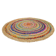 Cotton and sisal prayer jute round rugs