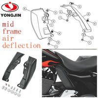 China supply high quality ABS motorcycle mid frame wind deflector for harley davidson