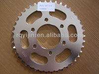 ISO9001 motorcycle bajaj discover 150 chain sprocket
