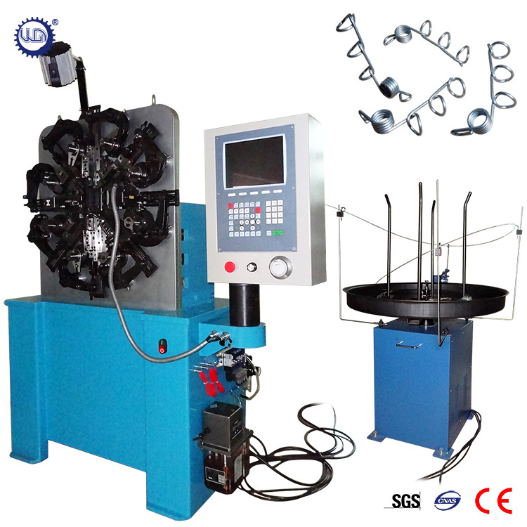 2017 Hot Sale CNC Steel Wire Torsion Coil Springs Machine Supplier