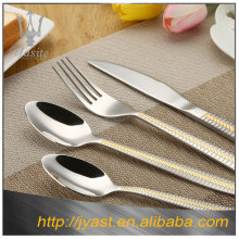 Hot selling kitchen stainless steel silver knives cutlery tray for restaurant