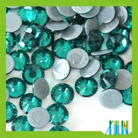 Cheap flatback austrian quality full color hot fix rhinestone