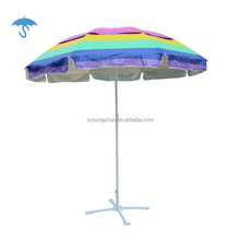 Factory Wholesale custom logo advertising beach umbrella