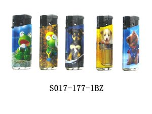 plastic windproof butane lighter lovely animal lighter