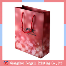 Printed Promotional Square Bottom Paper Bag for Tea Supplier
