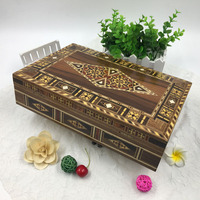UAE wooden storage case handcrafted wooden boxes with short lead time